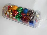 Набор игрушки новогодней  для украшения елки 32шт