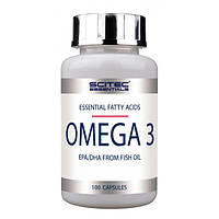Omega 3 Scitec Nutrition, 100 капсул