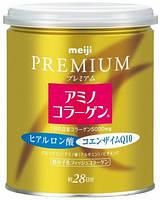 MEIJI Amino Collagen Premium, Коллаген, гиалуроновая кислота, коэнзим Q10, 200гр( на 28 дней)