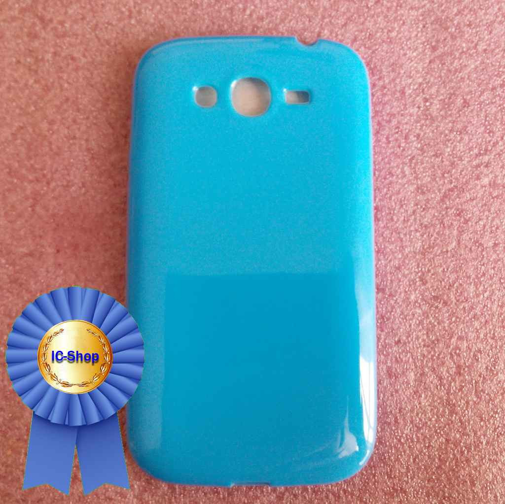 Чехол Samsung i9080 / i9082 - blue (Cиликон) #23