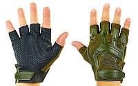 Рукавички тактичні з відкритими пальцями MECHANIX BC-4926-G(L)