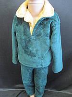 Теплые детские пижамы из махры.