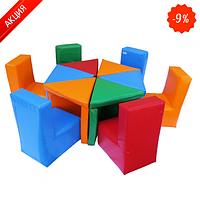 Комплект детской мебели Kidigo Цветик