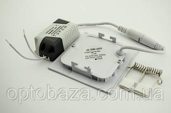 Встраиваемый led светильник 3Вт 4000К (84х84х17 мм), фото 3