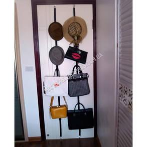 Adjustable bag rack – держатель (органайзер) для сумок с 16-ю крючками, фото 2