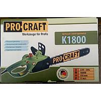 Электропила цепная ProCraft K1800