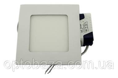 LED светильник встраиваемый 6Вт 4000 К ( 120х120х18 мм)