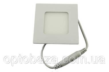 Led светильник встраиваемый 9 Вт 4000 К (180х180х18 мм)