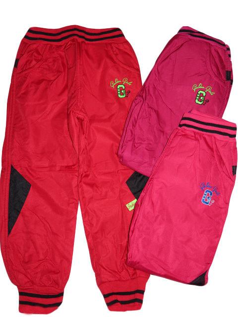 Балоневые брюки на флисе для девочек, размеры 98,104,110,116,122,128 арт. HZ-3472