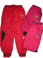 Балоневые брюки на флисе для девочек, размеры 98,104,110,116,122,128 арт. HZ-3472, фото 1
