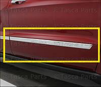 Хромовый молдинг правой передней двери Jeep Grand Cherokee 2011-14 новый оригинальный