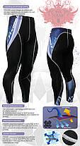 Компрессионные штаны Fixgear P2L-B48, фото 3