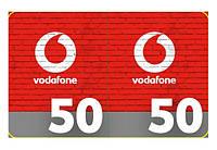 Карточка пополнения счёта Vodafone/ МТС 50 грн