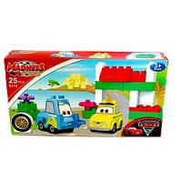 Детский конструктор 5115 Meadness CARS , Тачки (25 деталей)