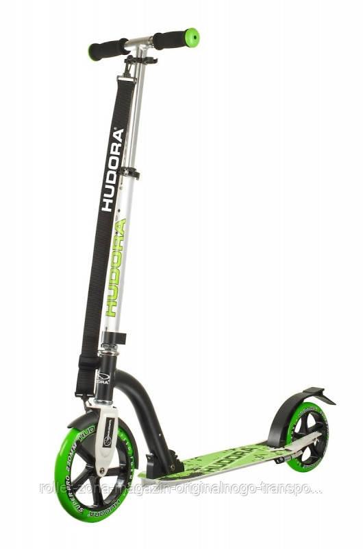 Самокат HUDORA Big Wheel Bold 230 green