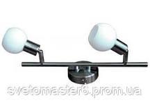 Светильник спотовый  Lemanso ST138-2 двойной G9 / 40W матовый хром