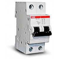 Автоматический выключатель ABB SH 202 2Р 16A C