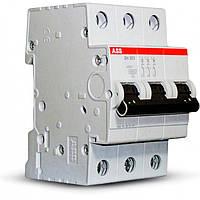 Автоматический выключатель ABB S 203 3Р 63A C