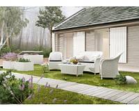 Комплект мебели Леонардо Белый, мебель для бассейна, мебель для сауны, мебель для ресторана
