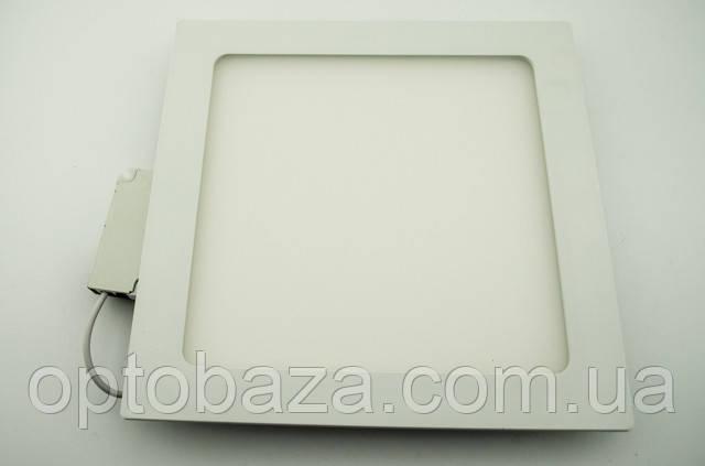 Led светильник встраиваемый 18Вт 4000К (225х225х22 мм)