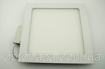 Led светильник встраиваемый 18Вт 4000К (225х225х22 мм), фото 2