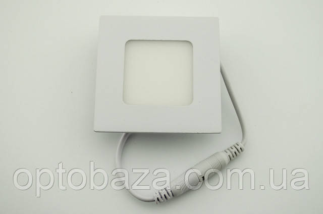 Встраиваемый led светильник 6Вт 4000 К (120х120х22 мм)