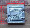 Дверка печная (алюминиевая) (145х145 мм)