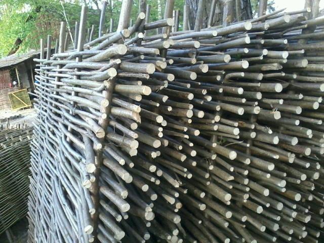 Плетеный забор из лещины от производителя