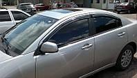 Дефлекторы стекол Mitsubishi Galant IX Sd 2004 (Митсубиси Галант) Cobra Tuning