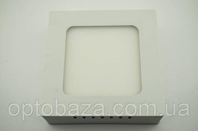 LED светильник накладной 12Вт 4000 К (169х169х37 мм)