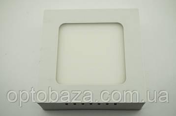 LED светильник накладной 12Вт 4000 К (169х169х37 мм), фото 2