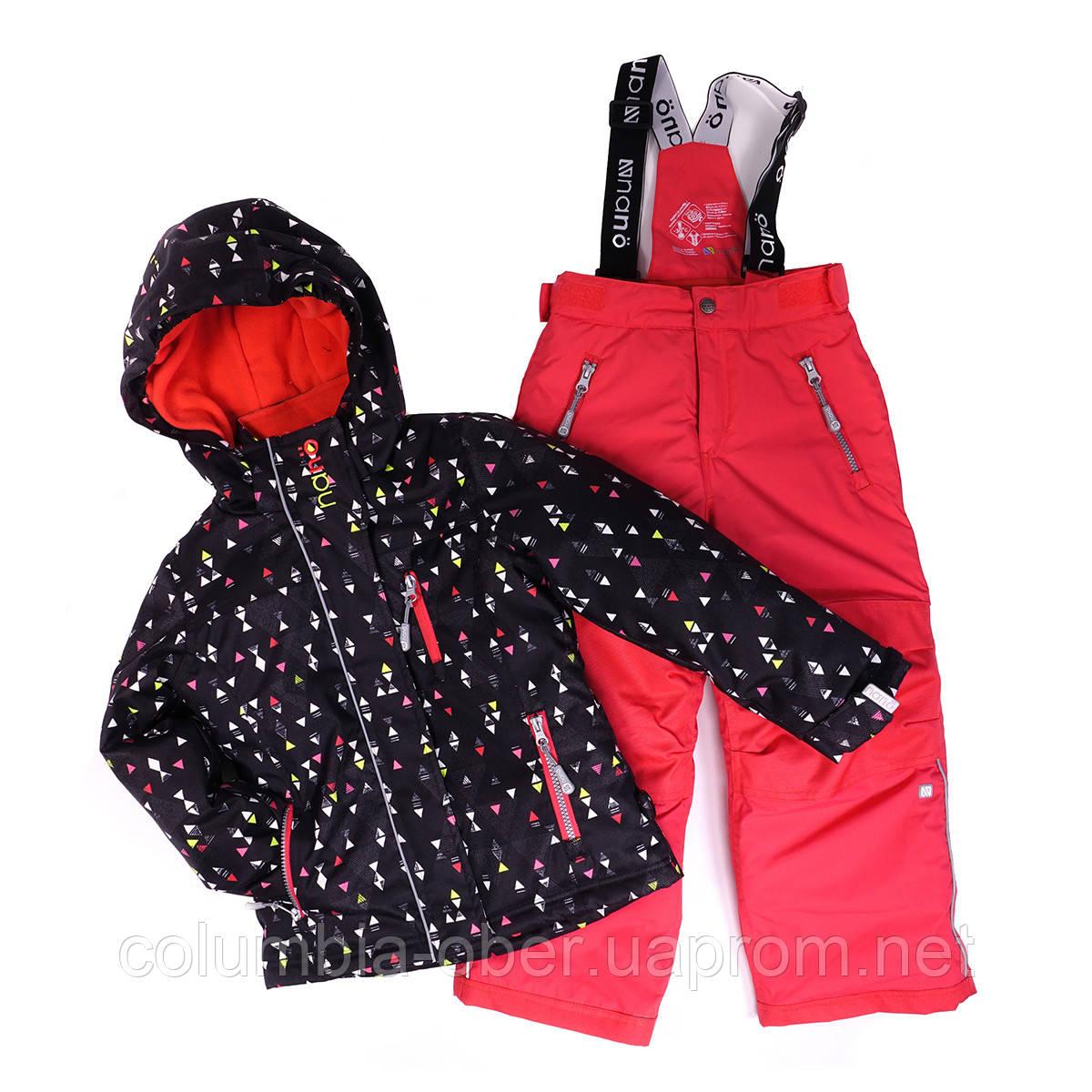Зимний комплект для девочки NANO 266 M F16. Размеры 2 - 12.