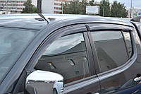 Дефлекторы боковых стекол Mitsubishi L200 IV 2007/Triton 2006-2010 (Митсубиси Л200) Cobra Tuning