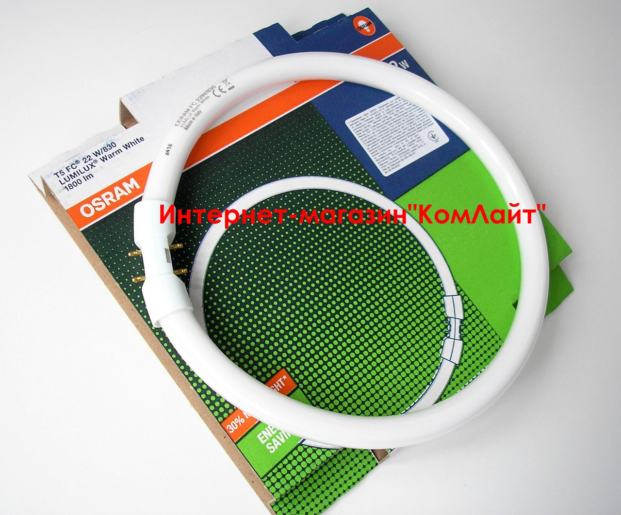 Лампа кольцевая OSRAM FC 22W/830 2GX13 T5(Италия)