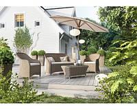 Комплект модульной мебели Леонардо Песочный, мебель для бассейна, мебель для сауны, мебель для ресторана