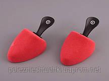 """Комплект колодок для обуви 2 шт., 16х8х5 см. """"Comfort"""" красные"""