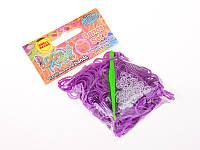 Набор для плетения цветными ароматизированными резинками 300 шт.