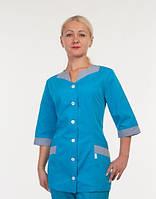 Медицинский костюм  3231 однотонный  (коттон)