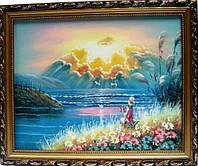 Картина масло в багете  580х480х20
