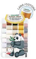 Lana/Cotona дорожный, вышивальный набор+CD диск (30xLana 200м, 20xCotona 200м, 2xBobbinfil 1500м)