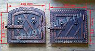Дверка металлическая для духовки, фото 1