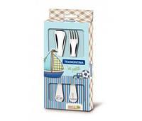 Детский набор столовых приборов 2 прибора Baby Le Petit Blue 395966871