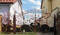 Кованные ворота 389, фото 1