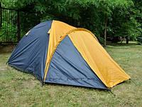 Палатка,четырех,4,местная,с тамбуром,двухслойная