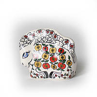 Лошадка Яблочко керамика: фарфор. Символ 2014 года лошади., фото 1