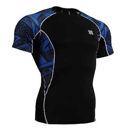 Компрессионная футболка рашгард Fixgear C2S-B1, фото 2