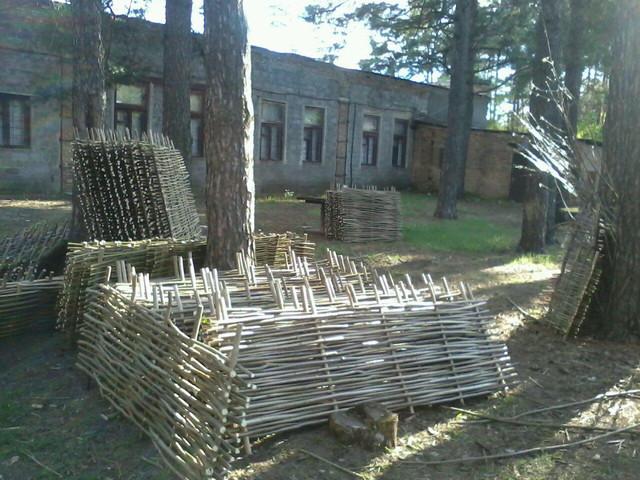 Плетеный забор от производителя