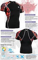 Компресійна футболка рашгард Fixgear C2S-B2, фото 3