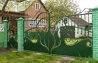 Кованные ворота 16800