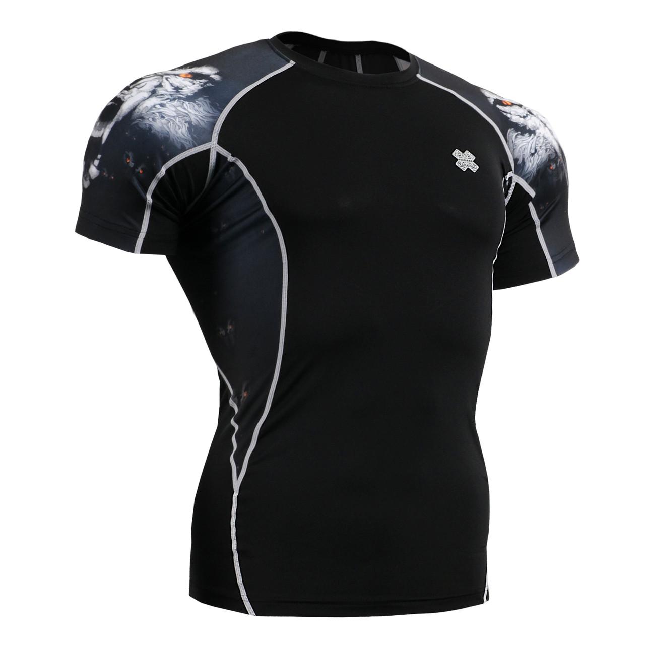 Компрессионная футболка рашгард Fixgear C2S-B18